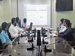 Training session conducted at Bureau HQs for implementation of BEOE-MIS at PE Offices Peshawar, Multan, Malakand and Quetta.